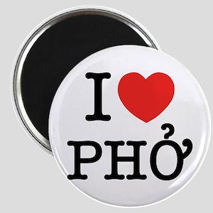 I Love (Heart) Pho Magnet