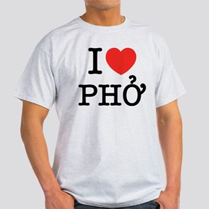 I Love (Heart) Pho Light T-Shirt