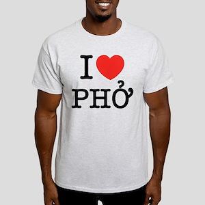 I Love (Heart) Pho Light T-Shirt