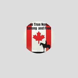 Oh Canada Mini Button