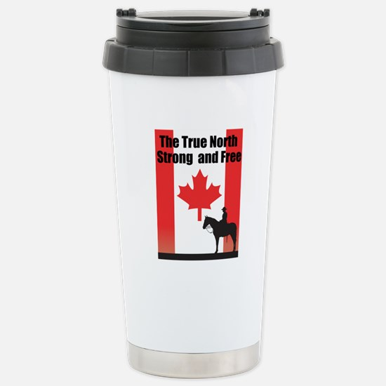 Oh Canada Stainless Steel Travel Mug