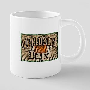 Best Papa 20 oz Ceramic Mega Mug