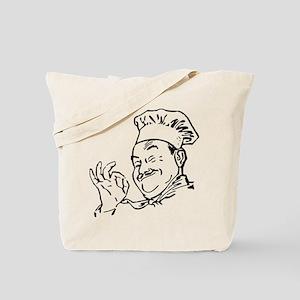 Chef says okay Tote Bag