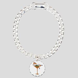 Miami-tini Charm Bracelet, One Charm