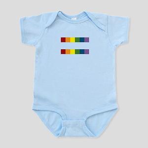 Gay Rights Equal Sign Infant Bodysuit