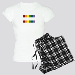Gay Rights Equal Sign Women's Light Pajamas