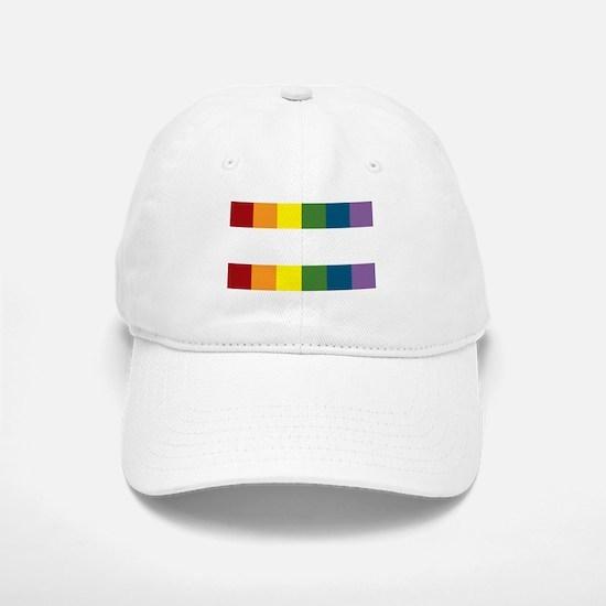 Gay Rights Equal Sign Baseball Baseball Cap