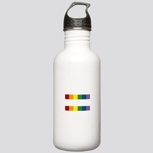 Gay Rights Equal Sign Stainless Water Bottle 1.0L