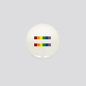 Gay Rights Equal Sign Mini Button (10 pack)
