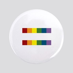 """Gay Rights Equal Sign 3.5"""" Button"""