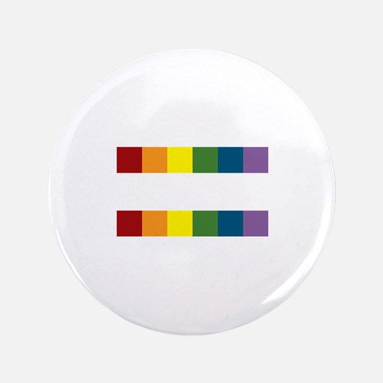 "Gay Rights Equal Sign 3.5"" Button"