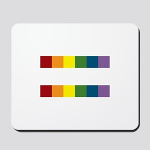 Gay Rights Equal Sign Mousepad