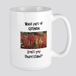 Quinoa plant Large Mug