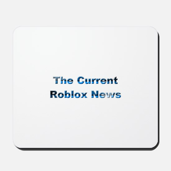 TheCurrentRobloxNews Mousepad