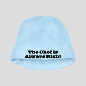 Chef Is Always Right baby hat