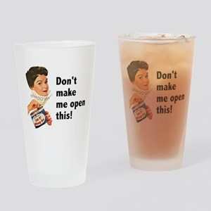 Can of Whoop-Ass Drinking Glass
