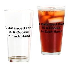 Balanced Diet Drinking Glass