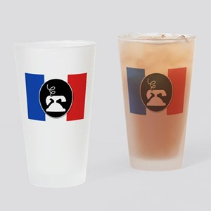 Francophone Drinking Glass