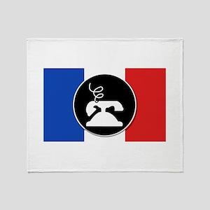Francophone Throw Blanket