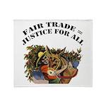 Fair Trade Throw Blanket