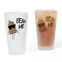 Bean Me Drinking Glass