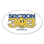 SECTION 303 Oval Sticker