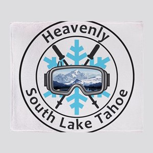 Heavenly Ski Resort - South Lake T Throw Blanket