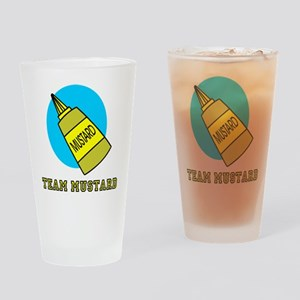 Team Mustard Drinking Glass