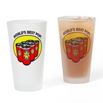 World's Best Pop Drinking Glass