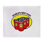 World's Best Pop Throw Blanket