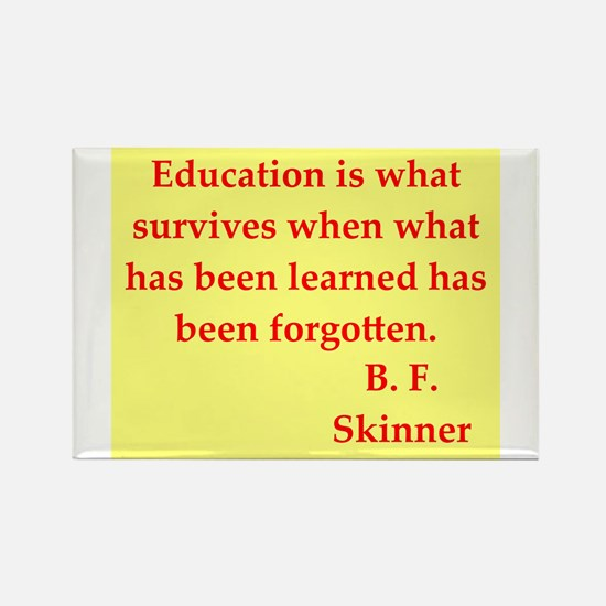 b f skinner quotes Rectangle Magnet