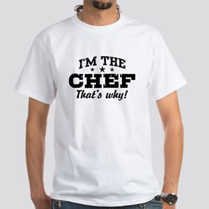 Funny Chef White T-Shirt