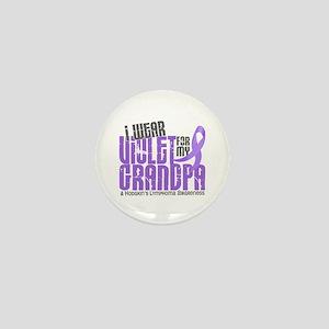 I Wear Violet 6 Hodgkin's Lymphoma Mini Button