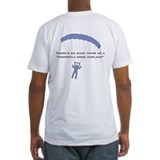 Skydiving Fitted Light T-Shirts