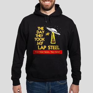 Funny Lap Steel Guitar Hoodie (dark)