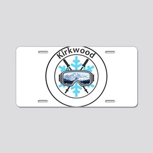 Kirkwood - Kirkwood - Cal Aluminum License Plate