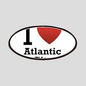 I Love Atlantic City Patches