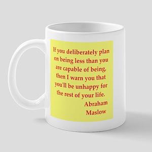 Abraham maslow quptes Mug