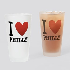 I Love Philly Drinking Glass