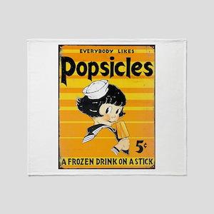 Popsicles! Throw Blanket