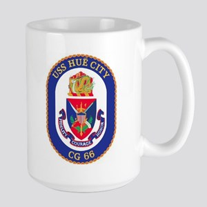 USS Hue City CG 66 Large Mug