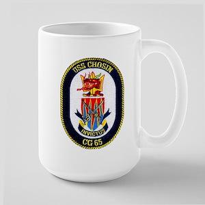 USS Chosin CG 65 Large Mug