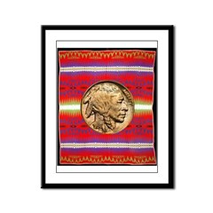 Indian Design-02a Framed Panel Print