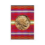Indian Design-02a Rectangle Magnet (100 pack)