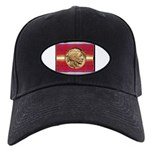 Indian Design-02a Black Cap