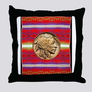 Indian Design-02a Throw Pillow