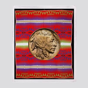 Indian Design-02aa Throw Blanket