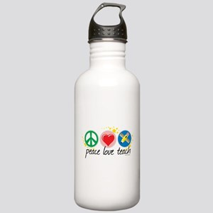 Peace Love Teach Stainless Water Bottle 1.0L