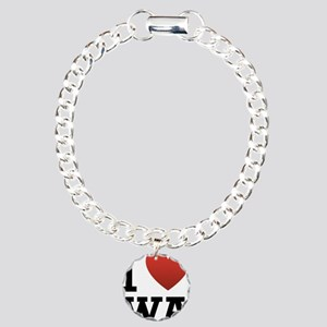 I Love Washington Charm Bracelet, One Charm