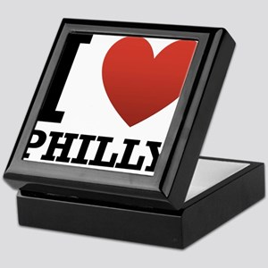 I Love Philly Keepsake Box